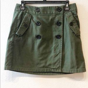 J. Crew Military Green skirt 4